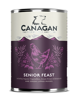 Canagan Can SENIOR FEAST - dla psów -  0,400kg