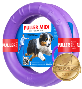 PULLER - dla psa - dog training device  MIDI