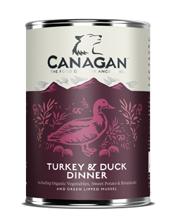 Canagan Can TURKEY & DUCK DINNER - dla psów -  0,400kg